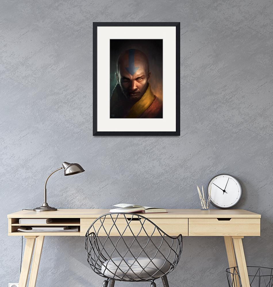 """Aang"" (2015) by rob-joseph"