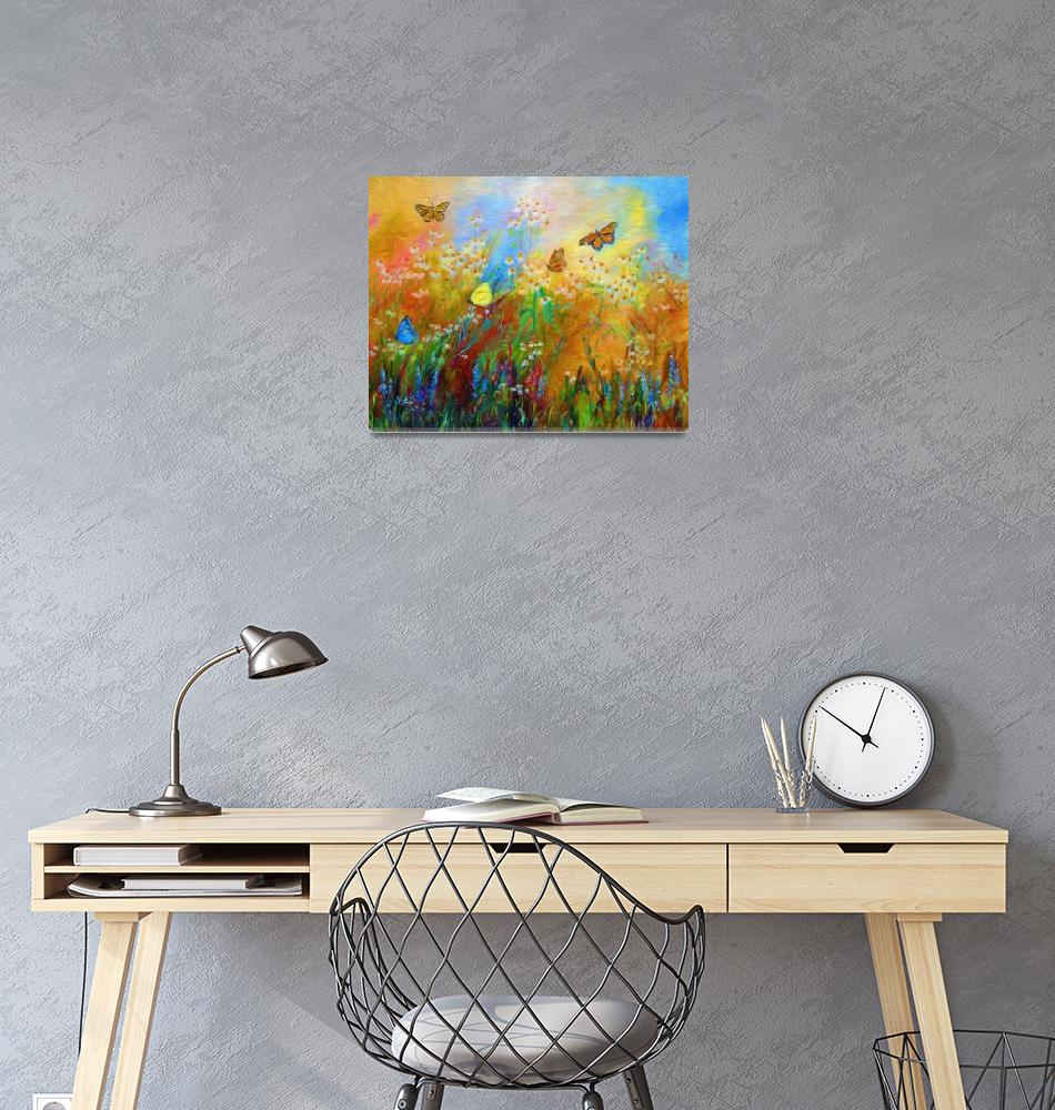 """""""Chamomile Garden Colorful""""  (2015) by GinetteCallaway"""