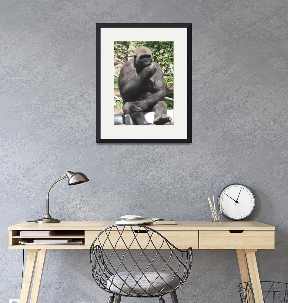 """""""Thinking Primate""""  by strongarmfamily"""