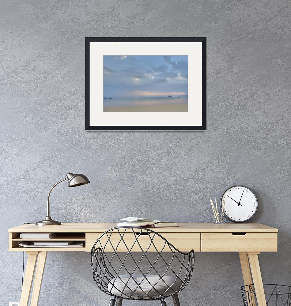 """""""Watercolor Sunrise""""  (2007) by AnnG"""