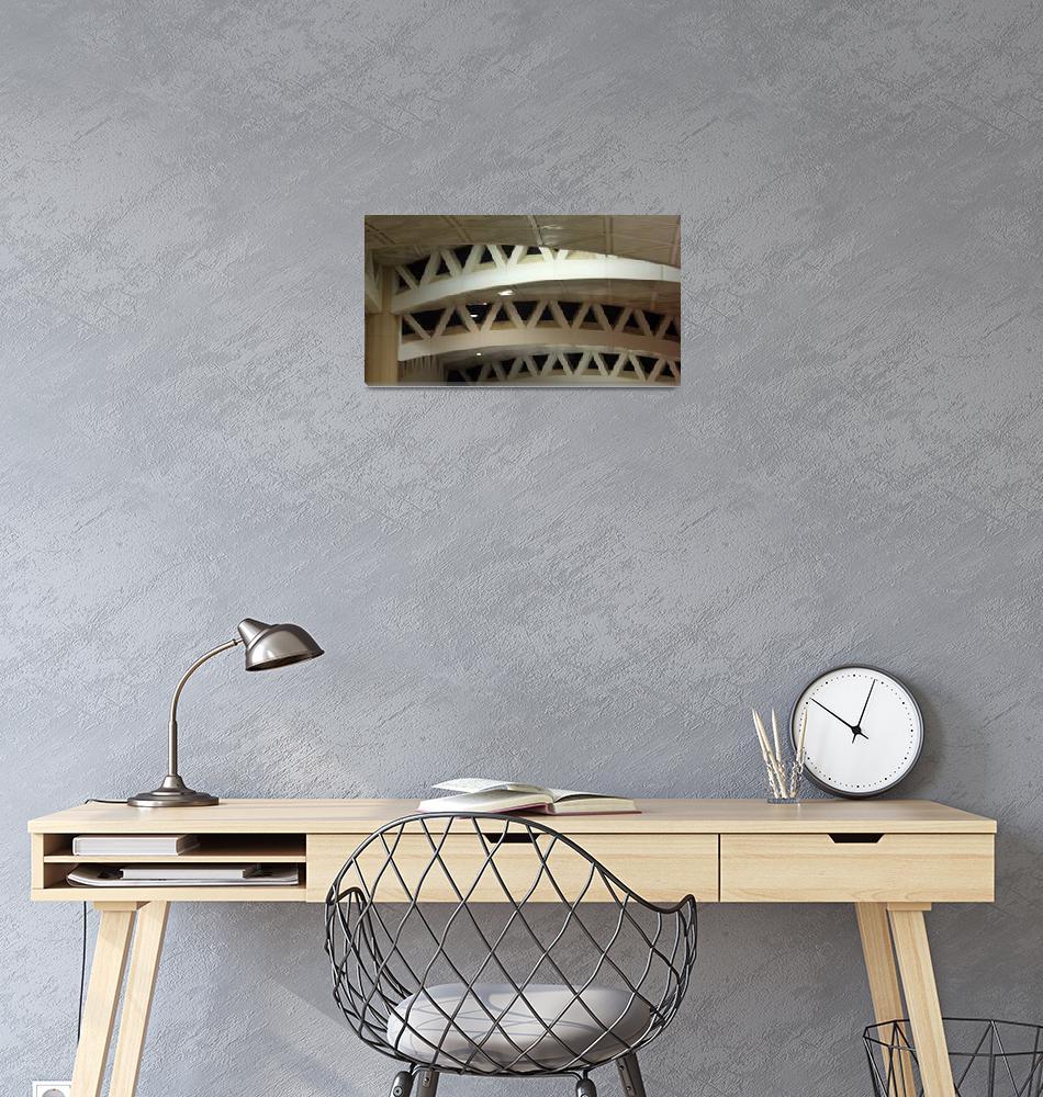 """Saudi Airport Ceiling Design""  (2012) by belinda_baardsen"