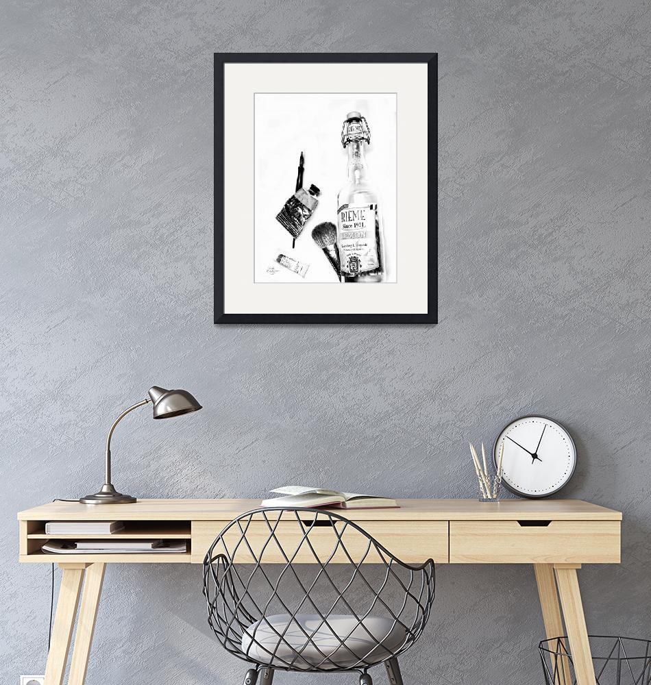 """""""Still Life Photography Black & White Objects 1""""  (2019) by GinetteCallaway"""