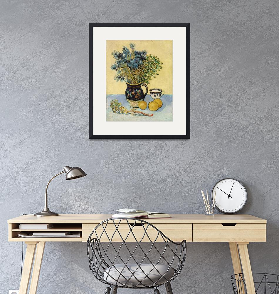 """""""Still Life by Vincent Van Gogh""""  by FineArtClassics"""