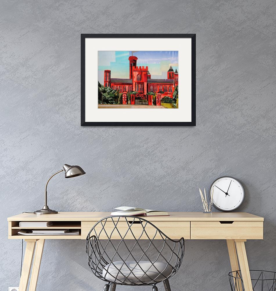 """""""Smithsonian Castle by Day""""  (2015) by megancoyle"""