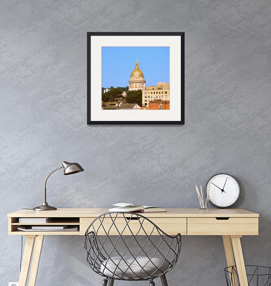 """""""Charleston, WV Capital Dome and Buildings""""  by Artsart"""