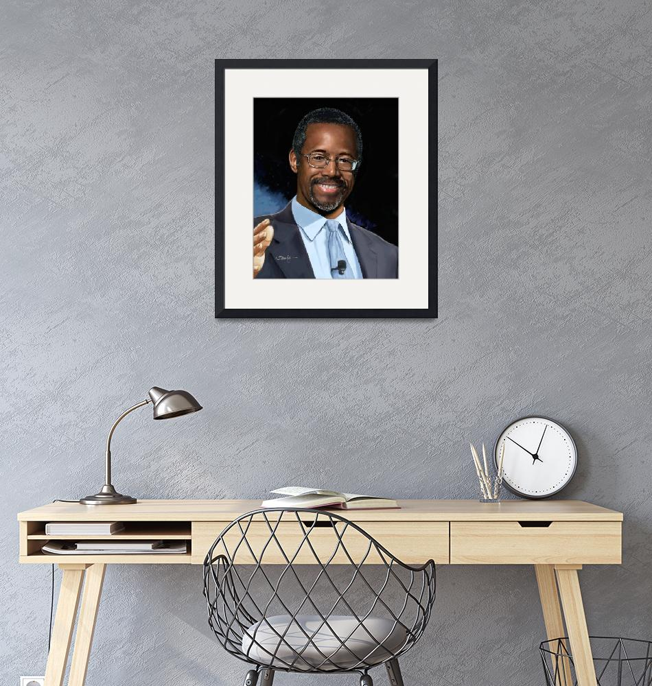 """Ben Carson head""  by Tim"