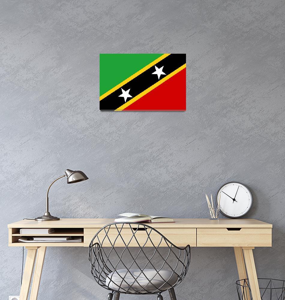 """""""Saint Kitts and Nevis""""  by tony4urban"""