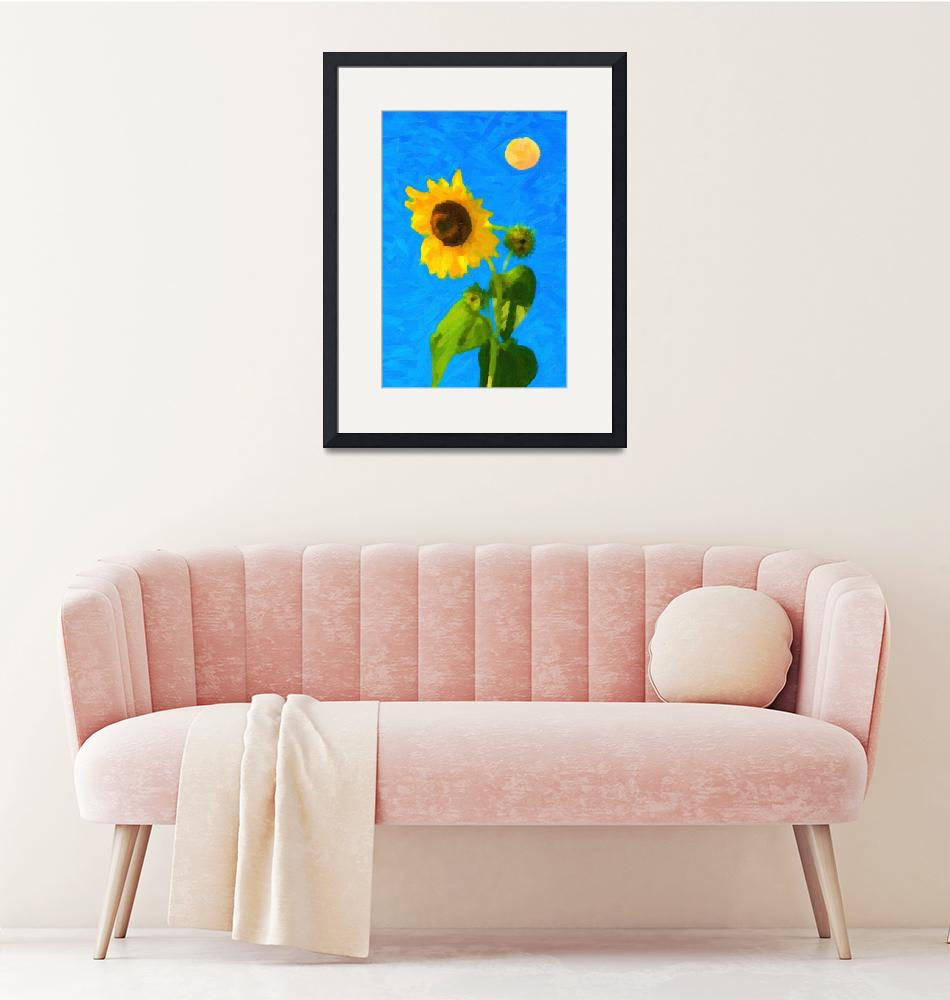 """""""Sun and Sun Flowers ca 2017 by Adam Asar""""  by motionage"""