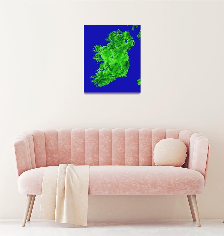 """""""Ireland""""  (2012) by Hein"""
