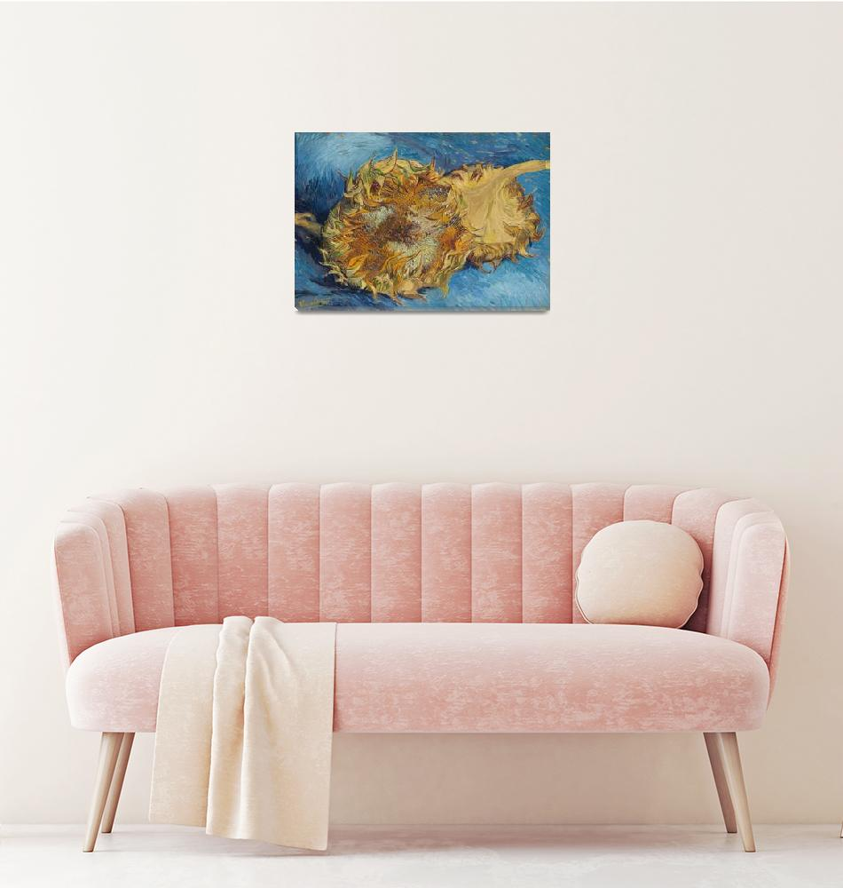"""""""Sunflowers by Vincent Van Gogh""""  by FineArtClassics"""