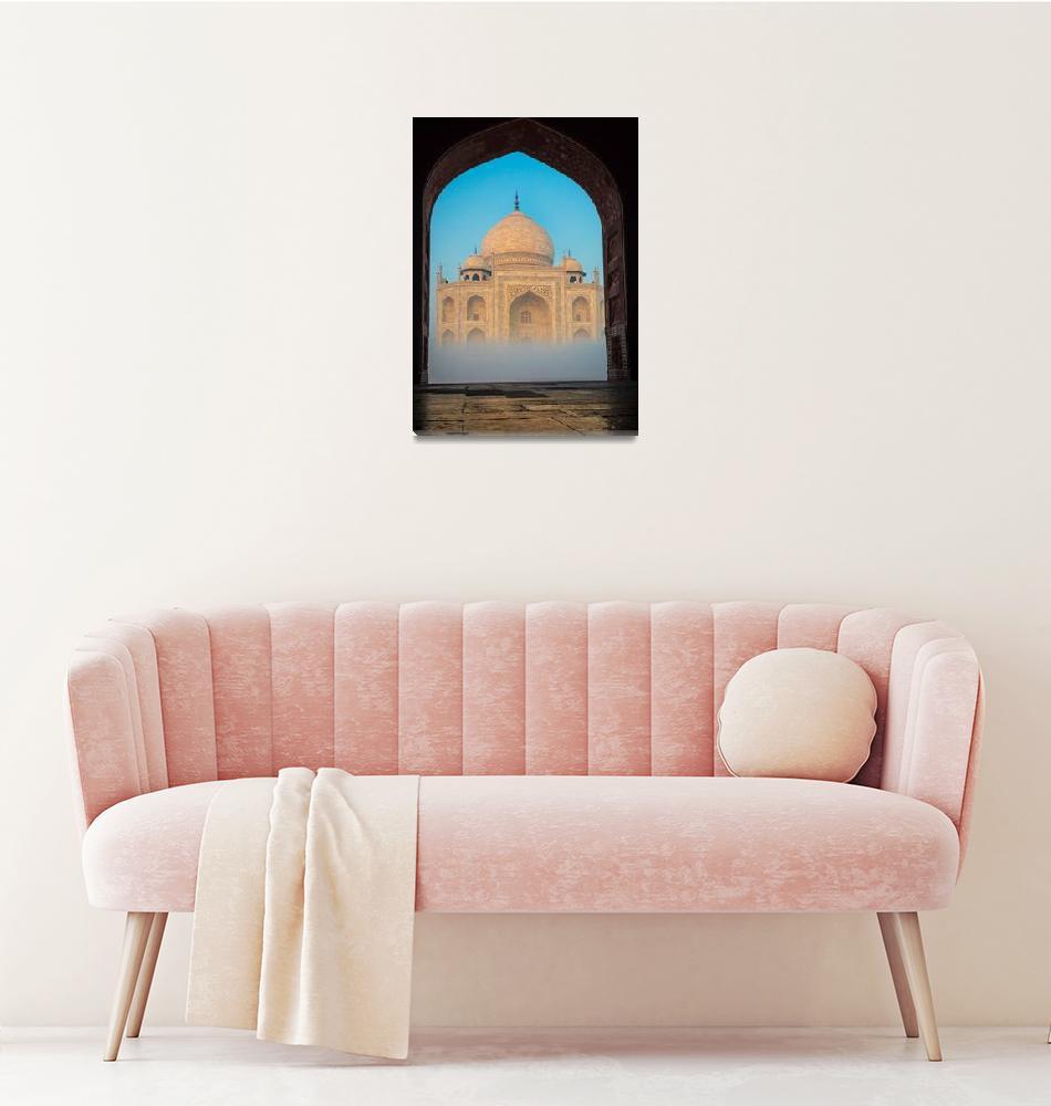 """Taj Mahal from Jawab""  (2013) by Inge-Johnsson"