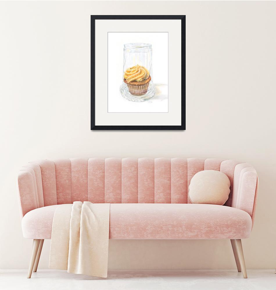 """""""Cupcake Under Glass""""  (2014) by dominicwhite"""