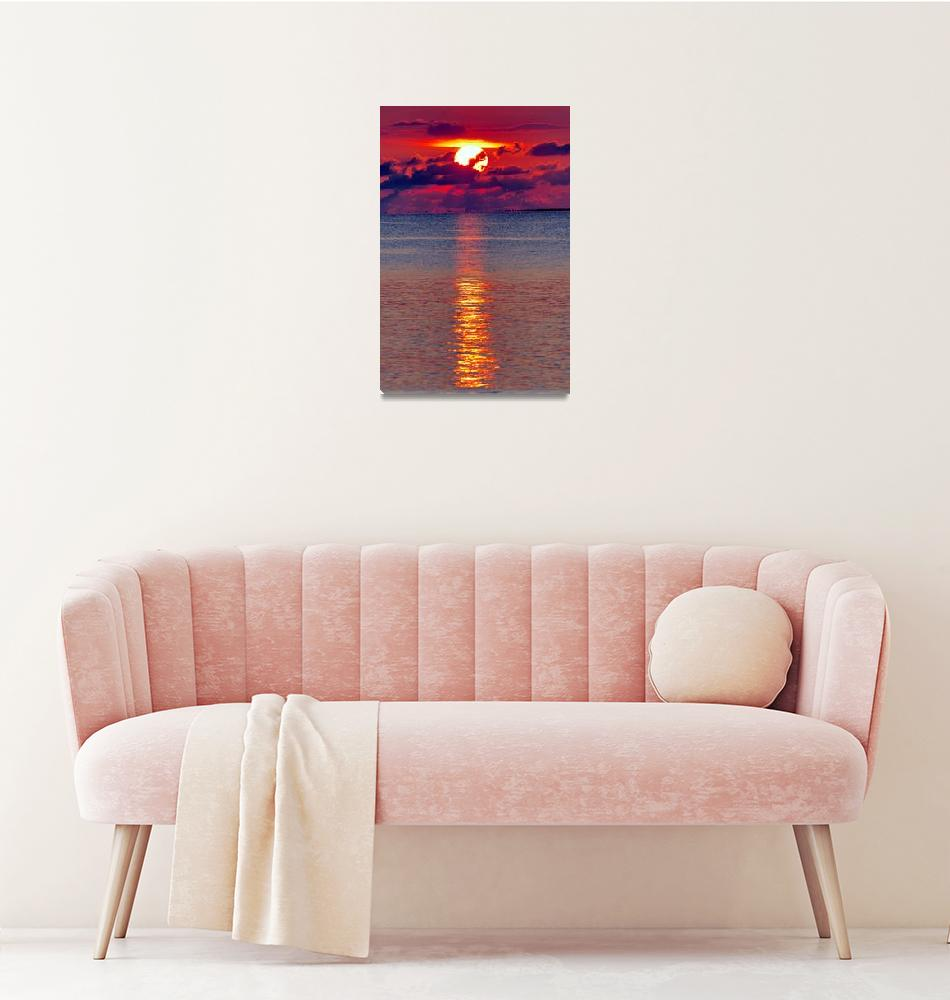 """""""Cuban Sunset""""  (2007) by JoaoPonces"""