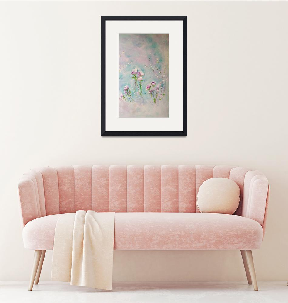 """""""Pastel Roses""""  by TheAbstractPeacock"""