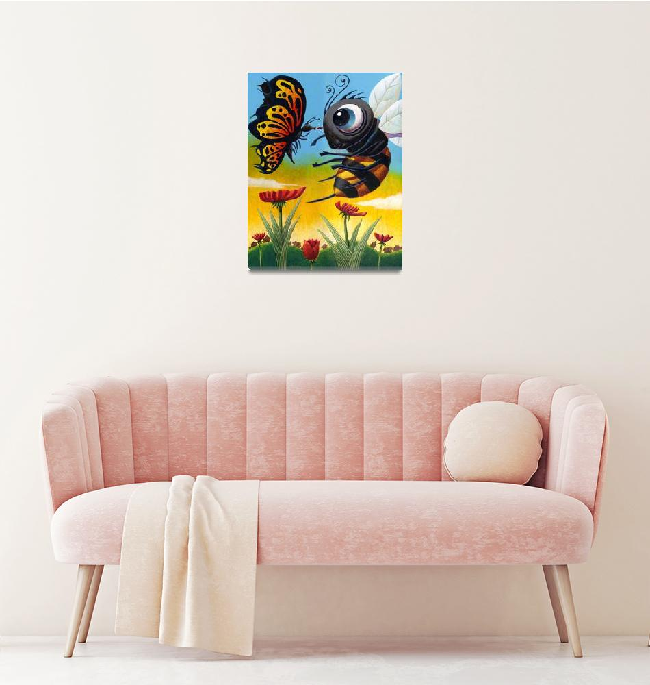 """Bizirk Butterfly""  (2006) by MikeCressy"