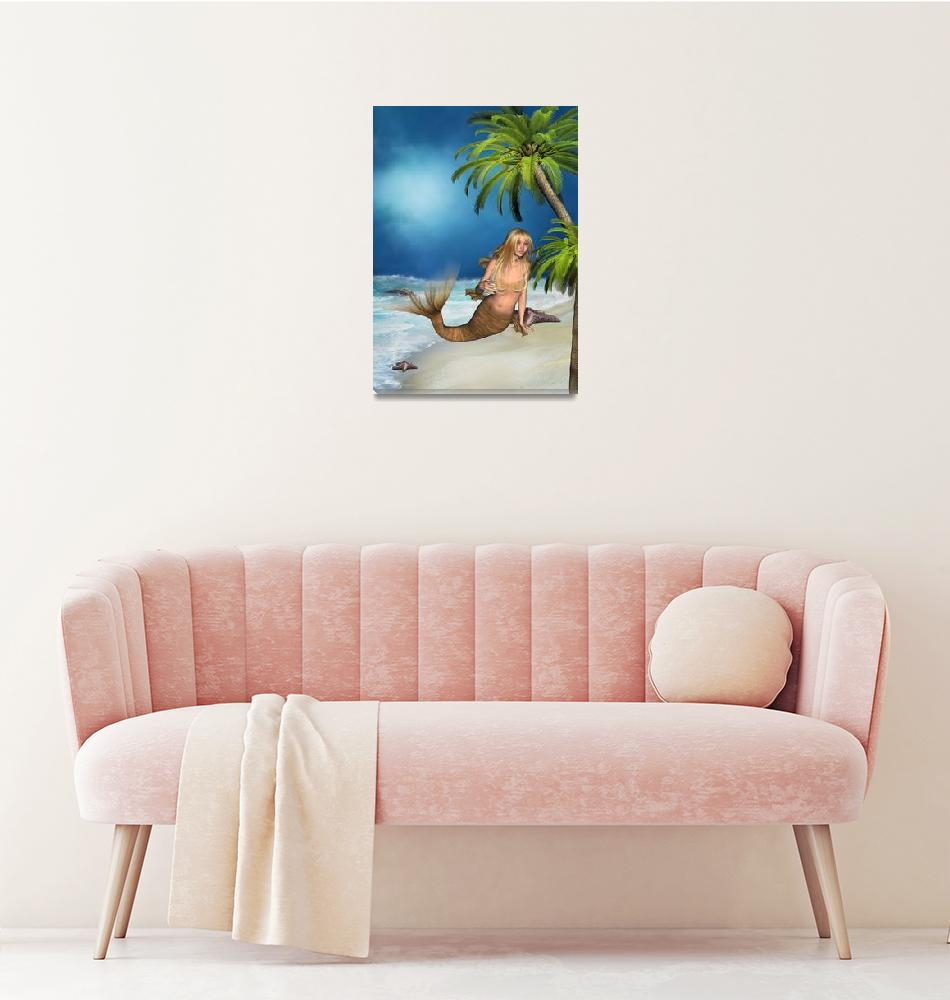 """Mermaid Beach""  (2011) by UnderTheSea"