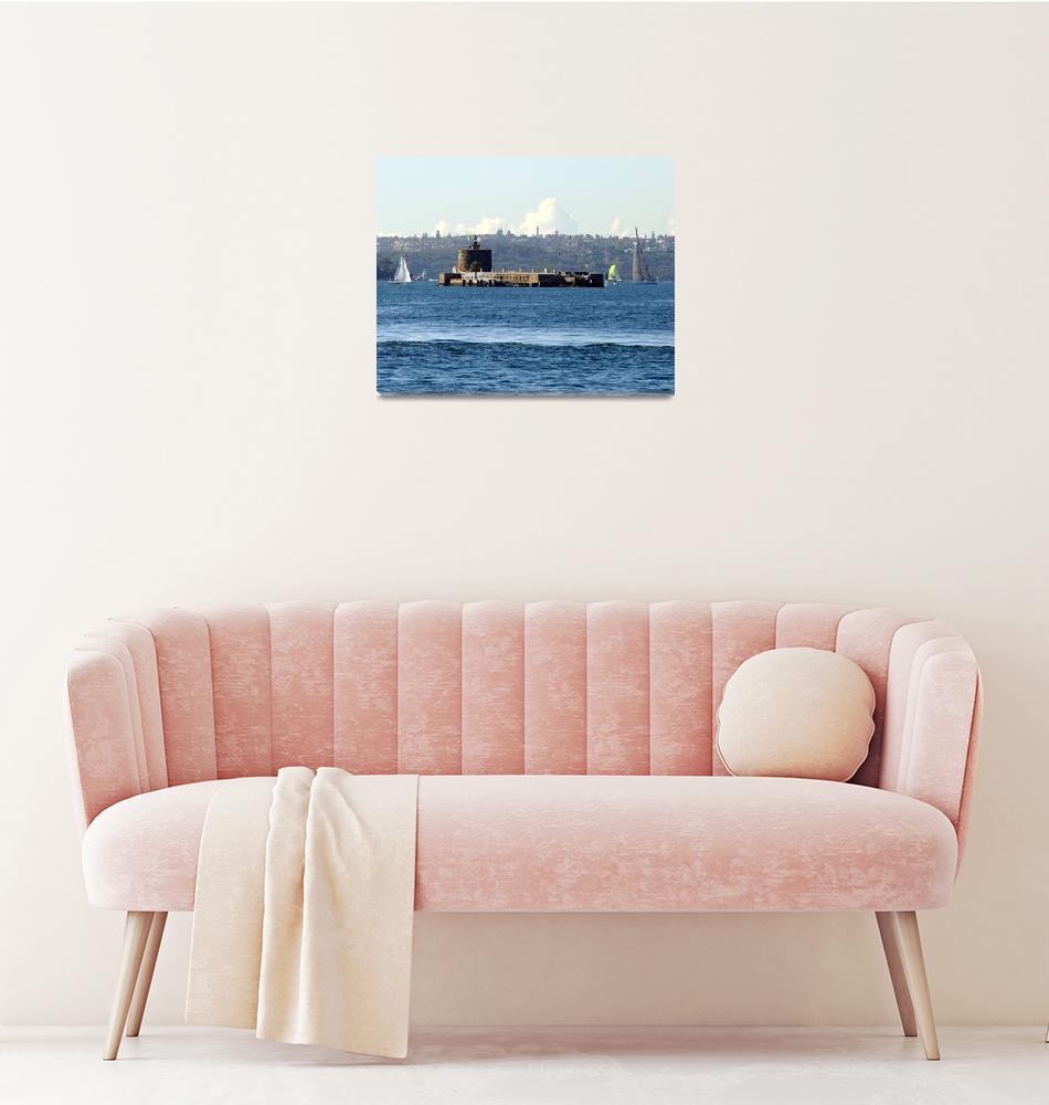 """Fort Denison Sydney Harbour Australia""  by davidiori"