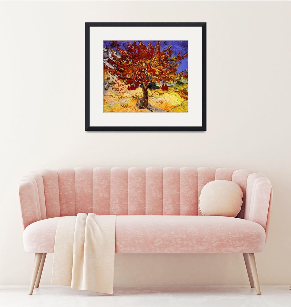 """Vincent Van Gogh Mulberry Tree Painting""  by masterpiecesofart"