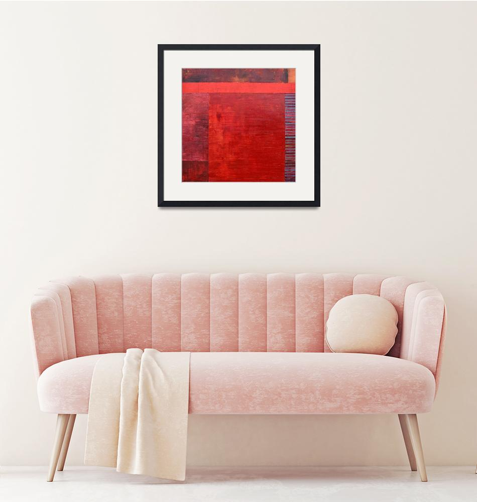 """""""Red with Orange""""  (2017) by Michelle1991"""