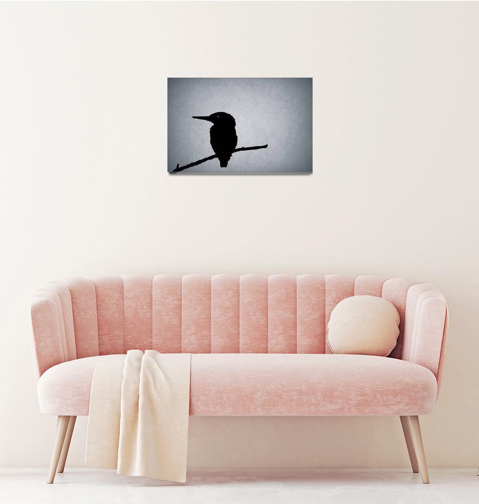 """Kingfisher""  by mark-rogan"