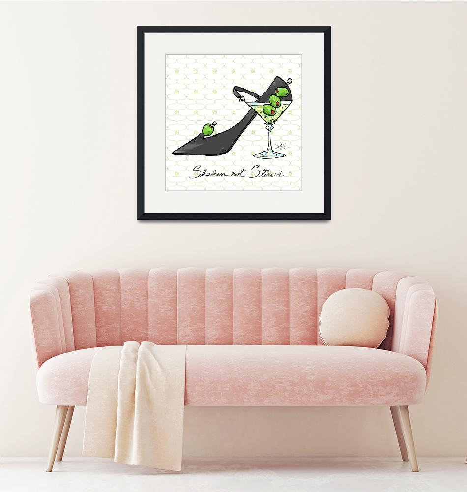 """Cocktail Shoes Martini""  (2011) by shariwarren"