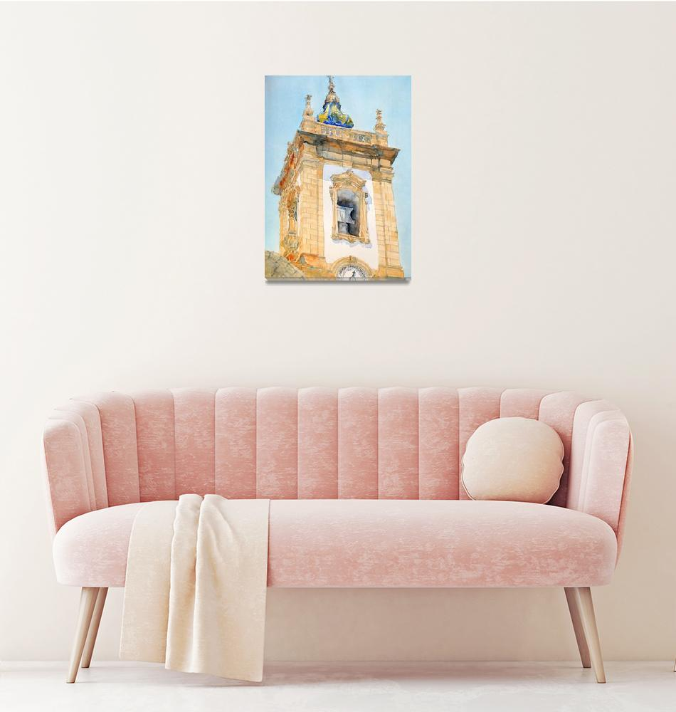 """Church of the Third Order of San Francisco de Paul""  (2018) by ShaSha"