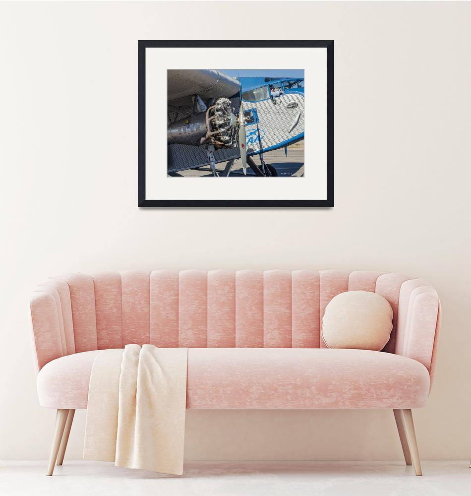 """""""Ford Tri-Motor - Business End""""  (2015) by awsheffield"""