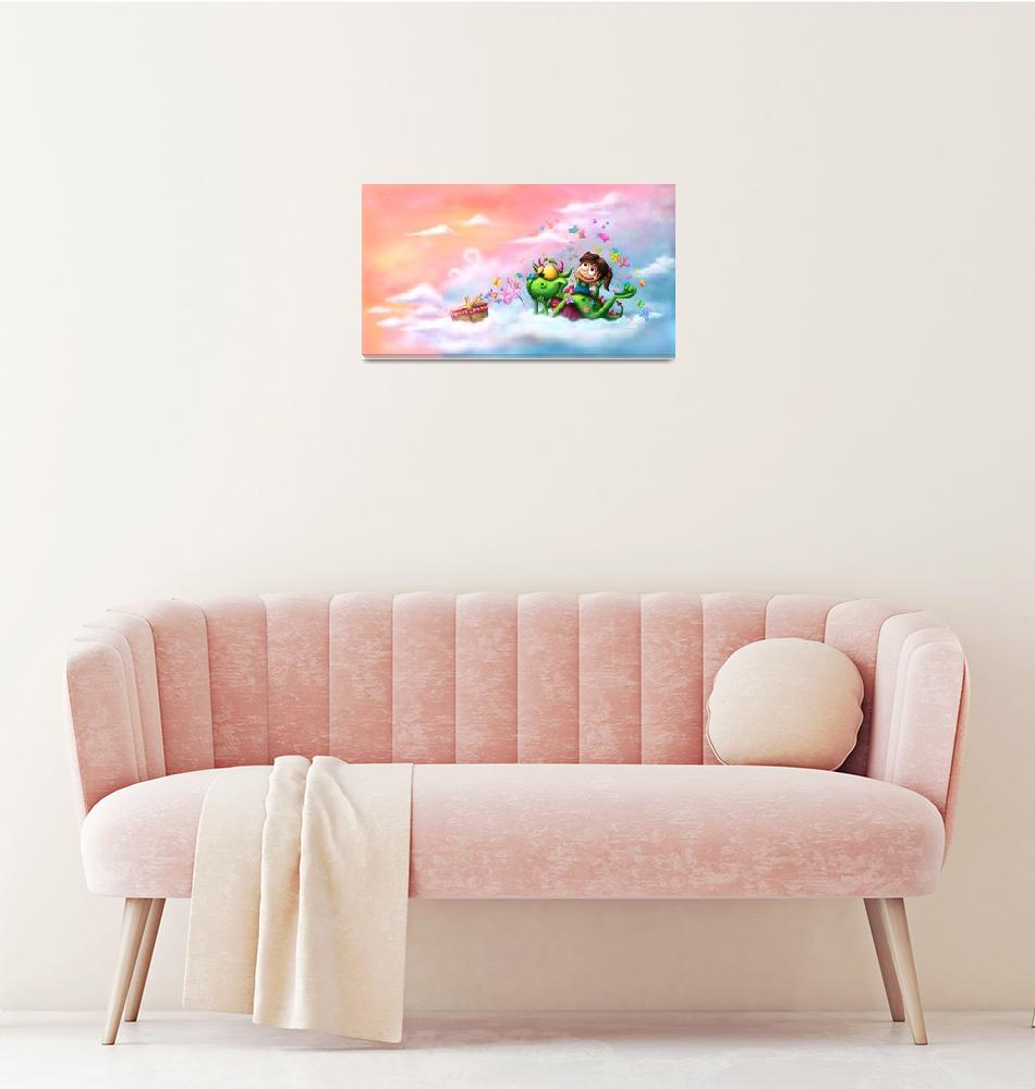 """""""Butterflies picnic in the sky"""" (2012) by Tooshtoosh"""