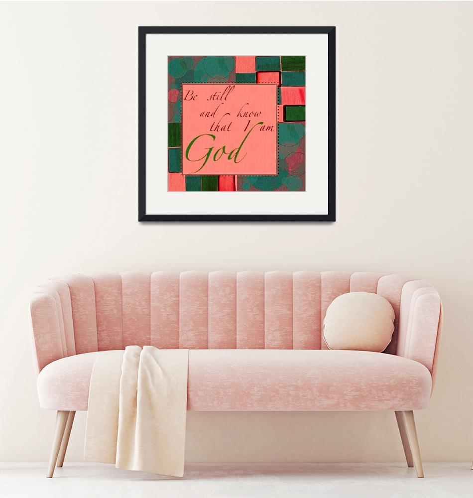 """""""be still color block pink and green""""  by lizmix"""