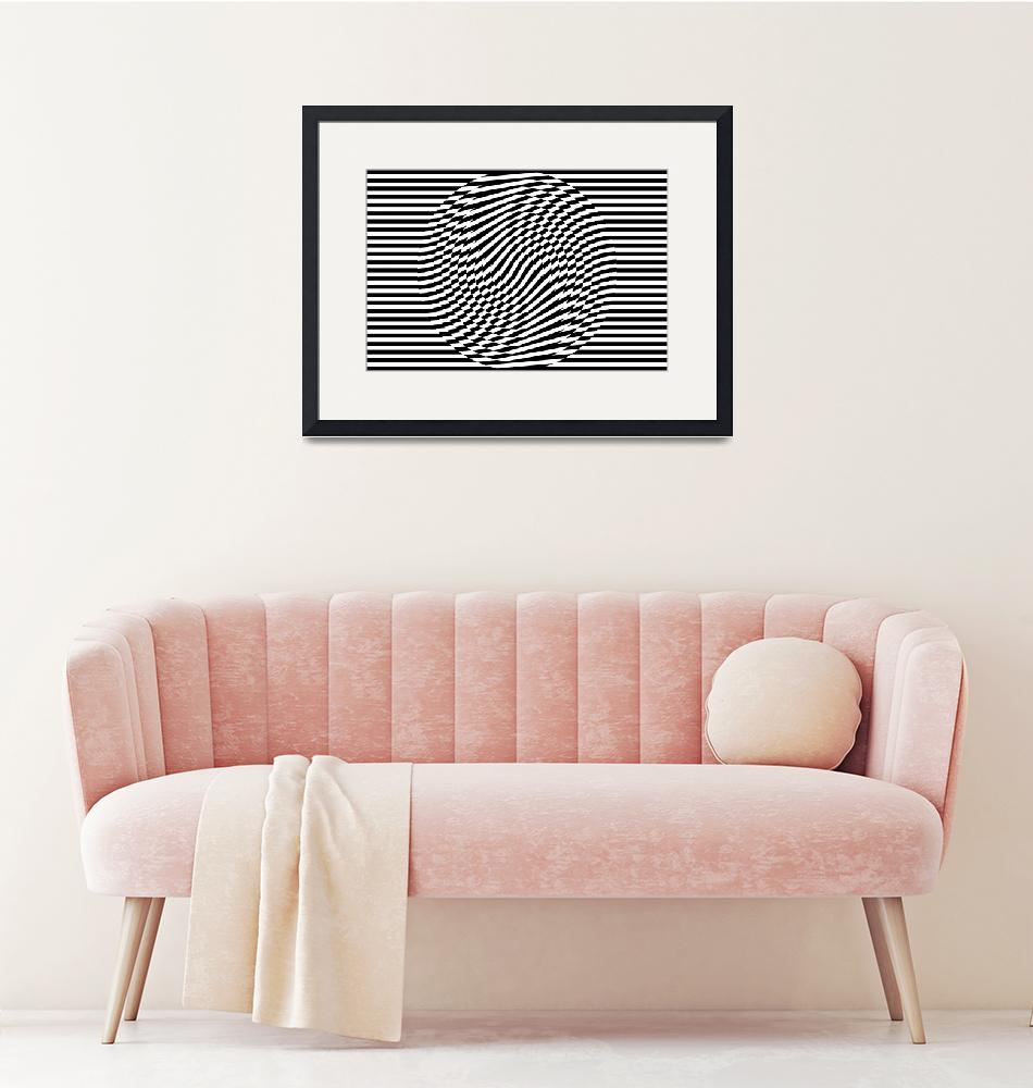 """""""Stripes and Circles I"""" by jvorzimmer"""