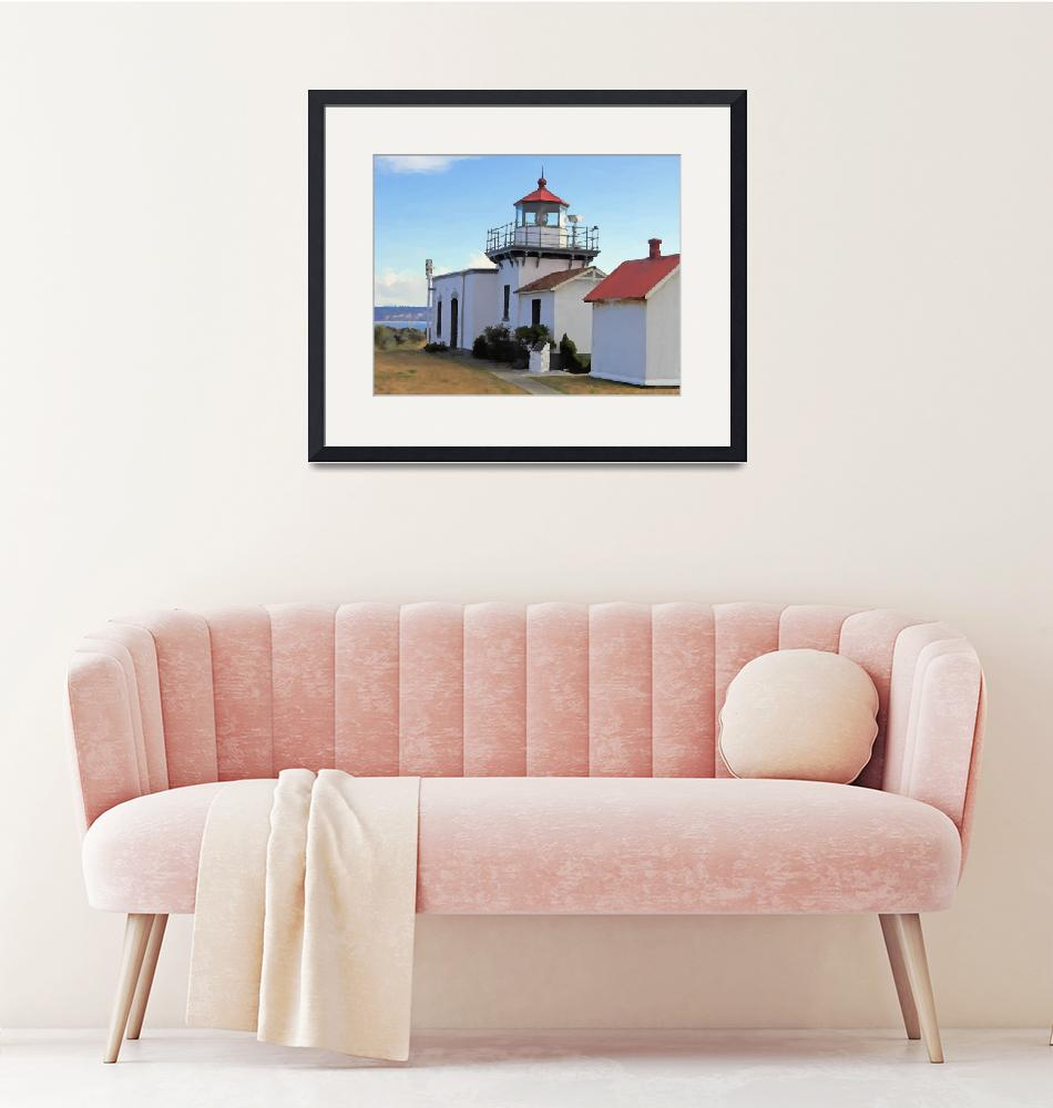 """""""Point No Point Lighthouse""""  (2005) by NWExposures"""