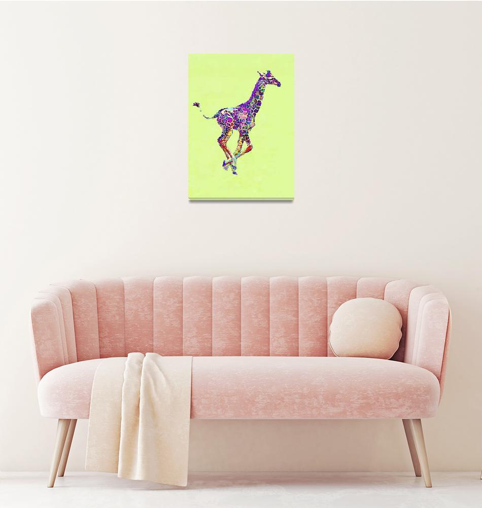"""baby giraffe""  (2012) by pietrastone"