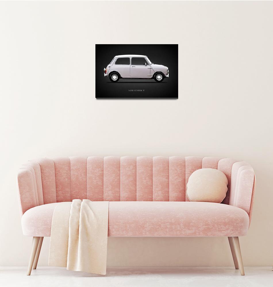 """Mini Cooper S 1968""  by mark-rogan"