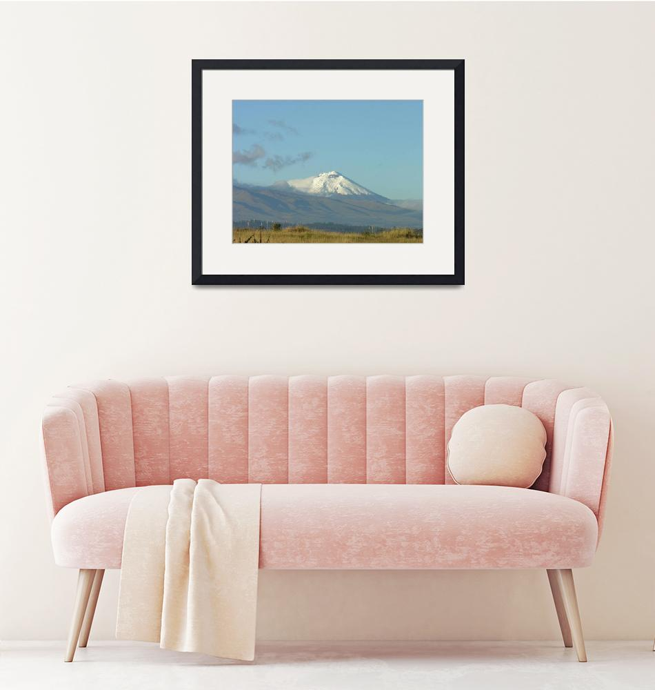 """""""Cotapaxi Volcano""""  (2009) by Natural_Imagery"""