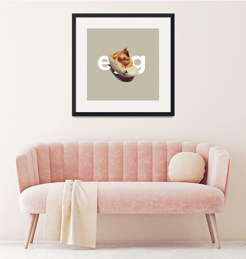 """""""Deviled Egg"""" (2011) by Creativille"""