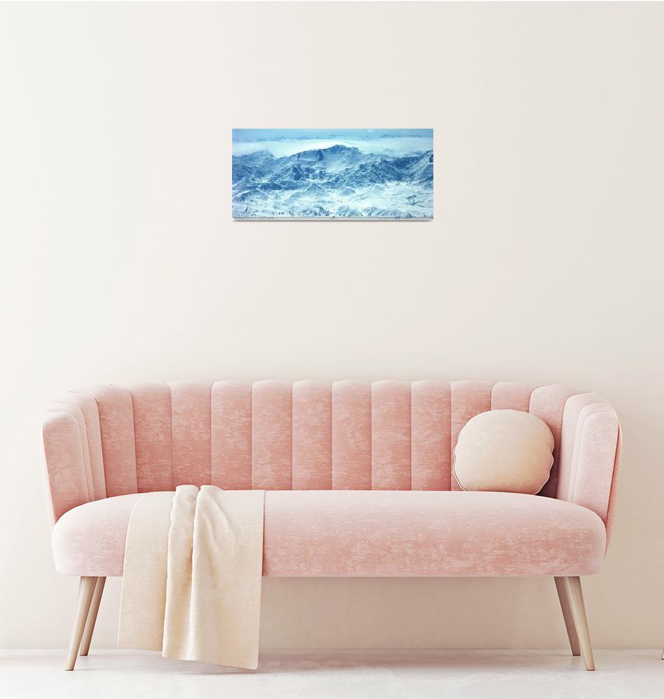 """Ibn Sina Peak Panorama Color""  (2007) by Liberando4Life"