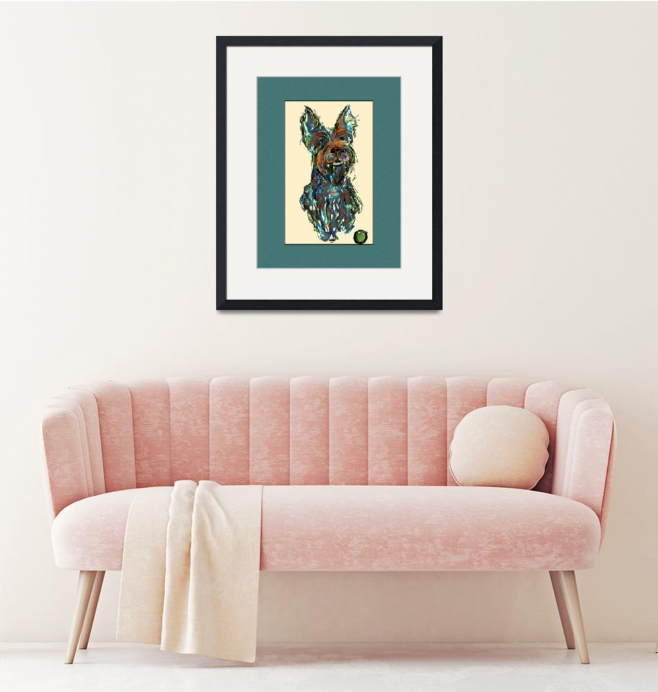 """""""Scottish Terrier """" Big Tommy"""""""" by artpaw"""