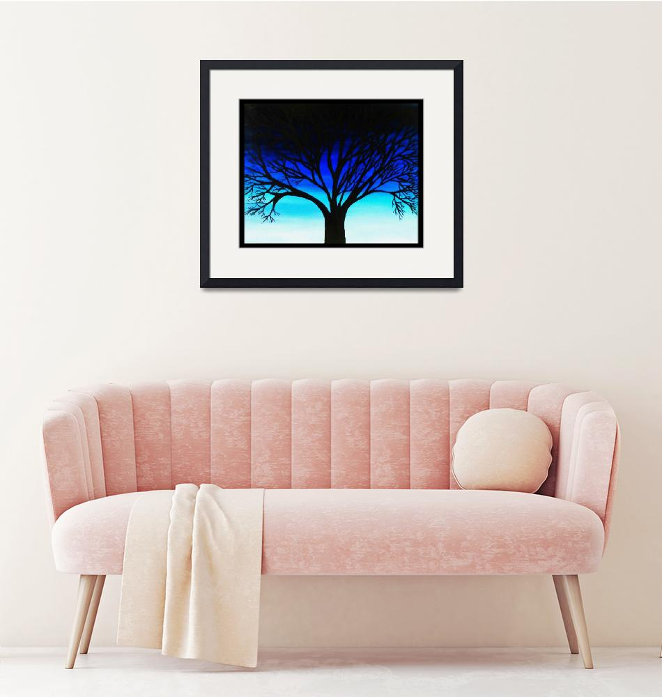 """Tree Silhouette""  (2011) by ArtByAlycia"