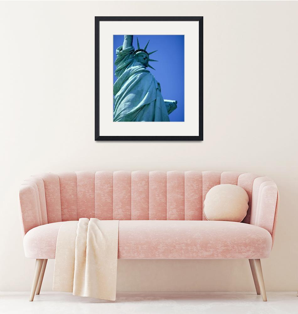 """Statue of Liberty New York NY""  by Panoramic_Images"