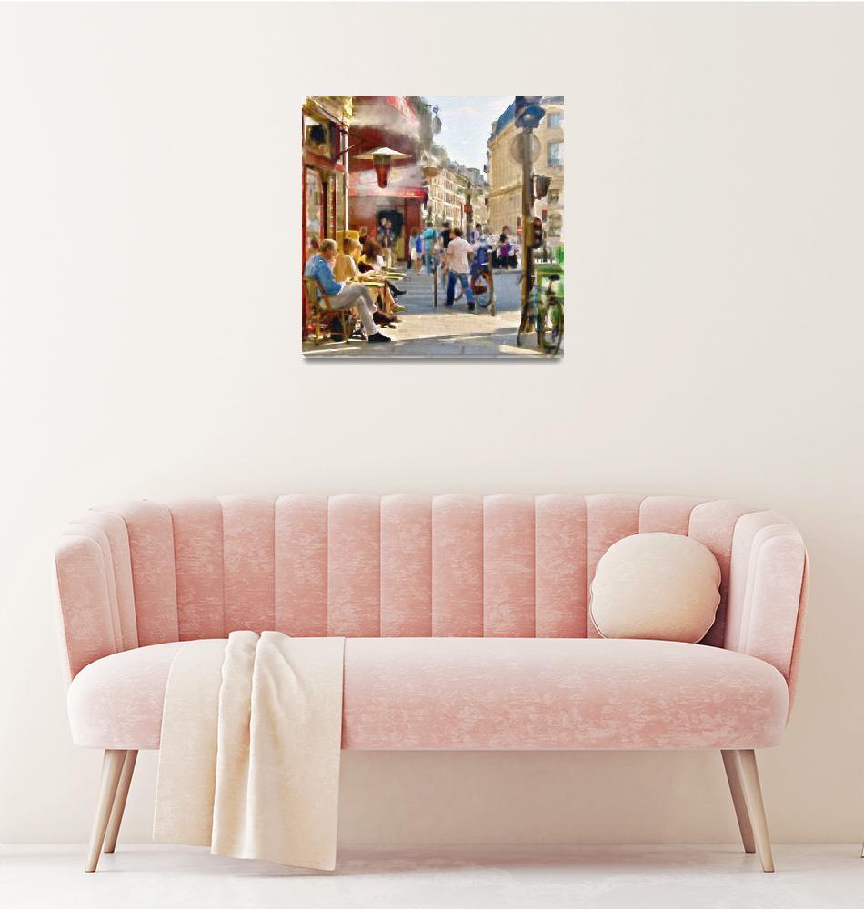 """Paris Streetscape""  (2015) by MarianVoicu"