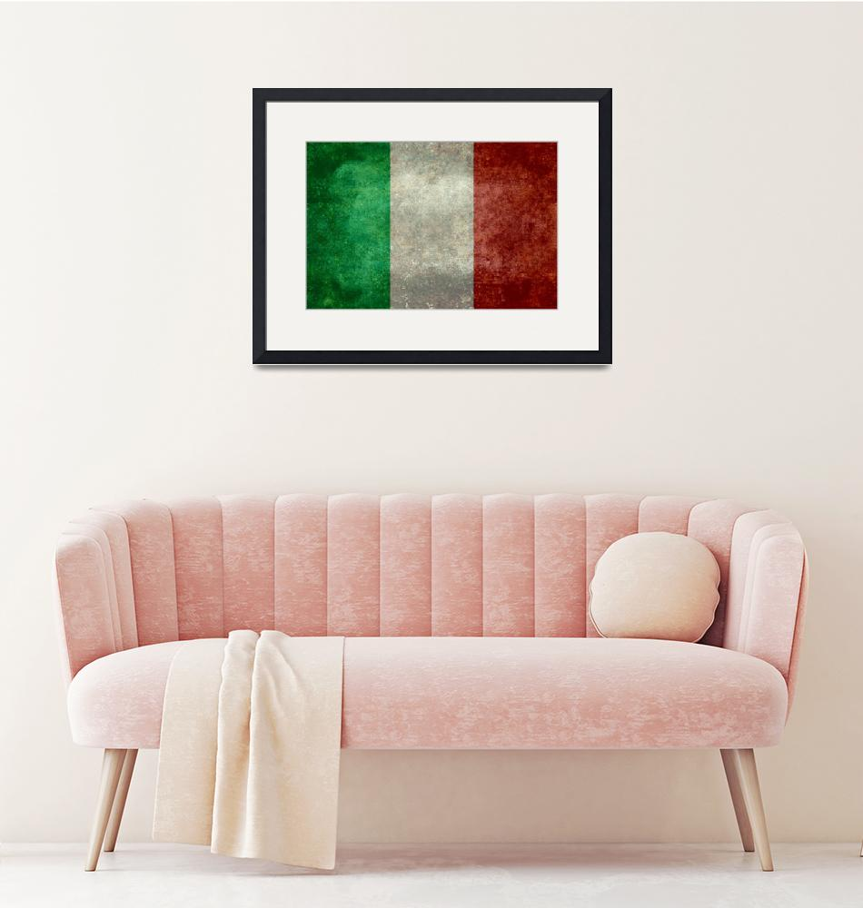 """Italian Flag""  (2015) by archangelus"