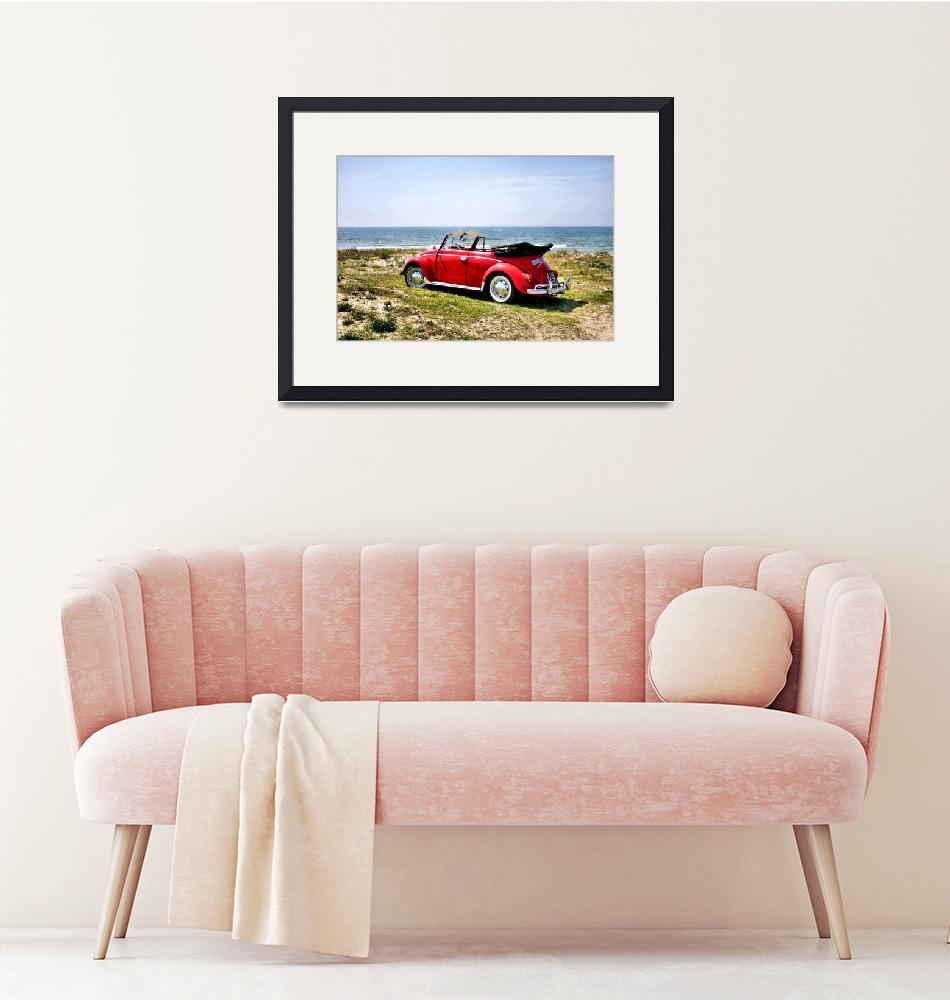 """""""VW on the beach - 2""""  (2012) by getshaped"""