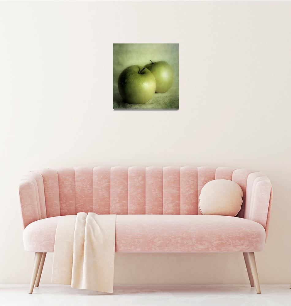 """apple painting""  by Piri"