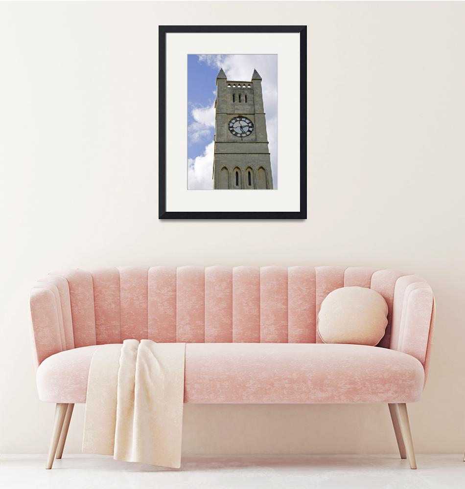"""""""The Clock Tower of Shanklin United Reformed Church""""  (2010) by rodjohnson"""
