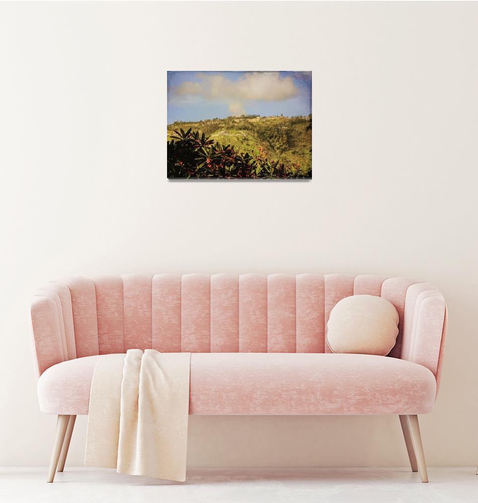 """Haiti Hills""  by WrightFineArt"