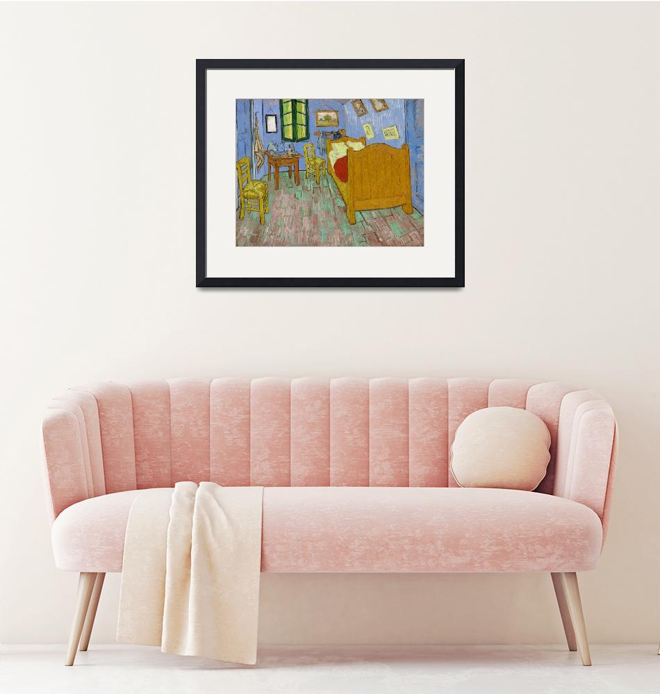 """The Bedroom by Van Gogh""  by FineArtClassics"