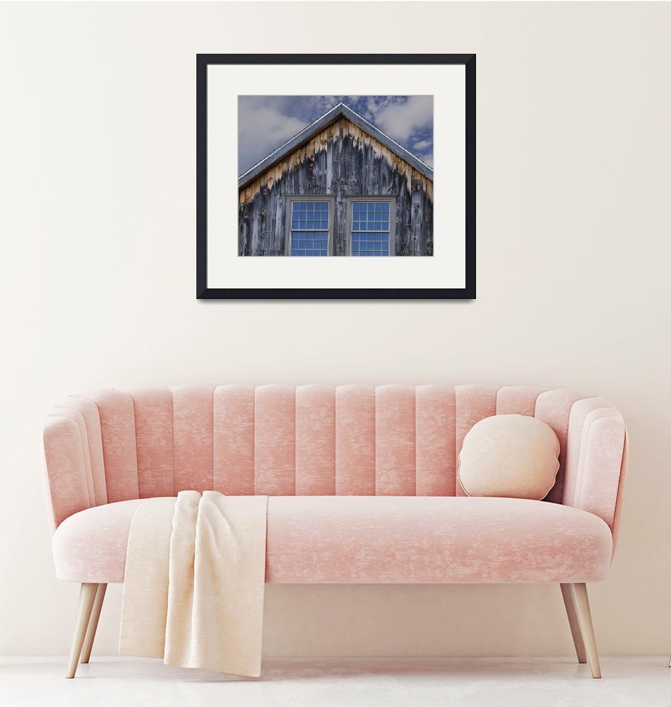 """""""New Windows for an Old Barn""""  by WilshireImages"""