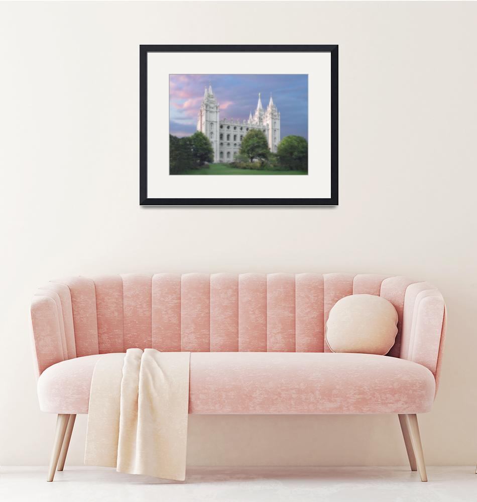 """Salt Lake Temple / Summer"" by TerrySpringer"