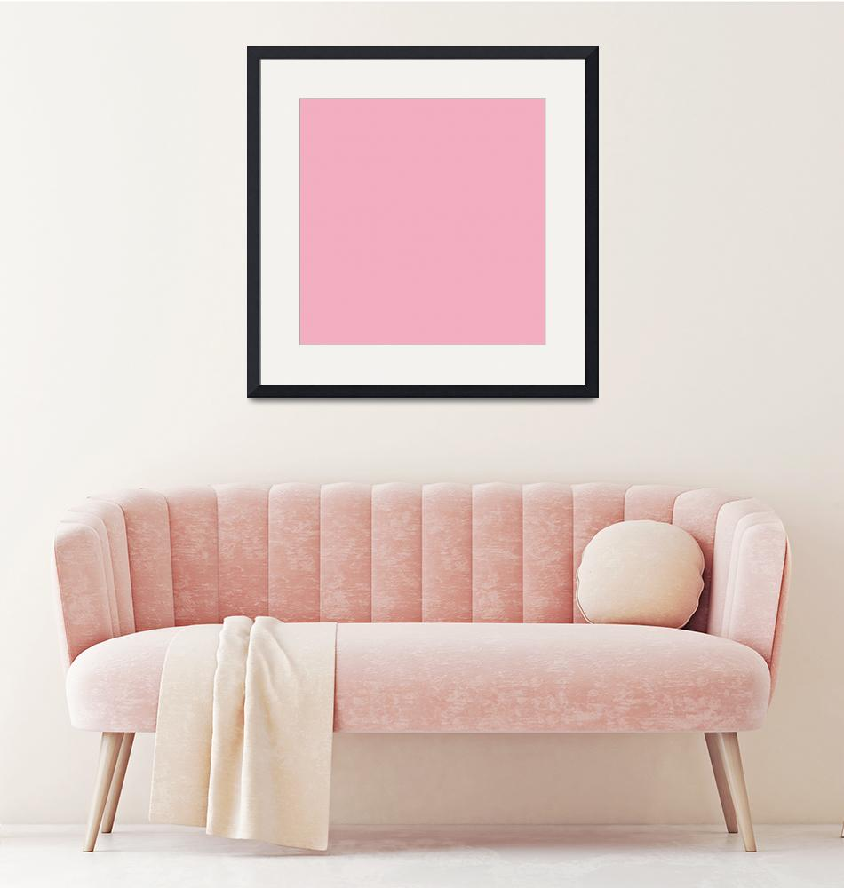 """""""Square PMS-203 HEX-F2AFC1 Pink Magenta Red""""  (2010) by Ricardos"""