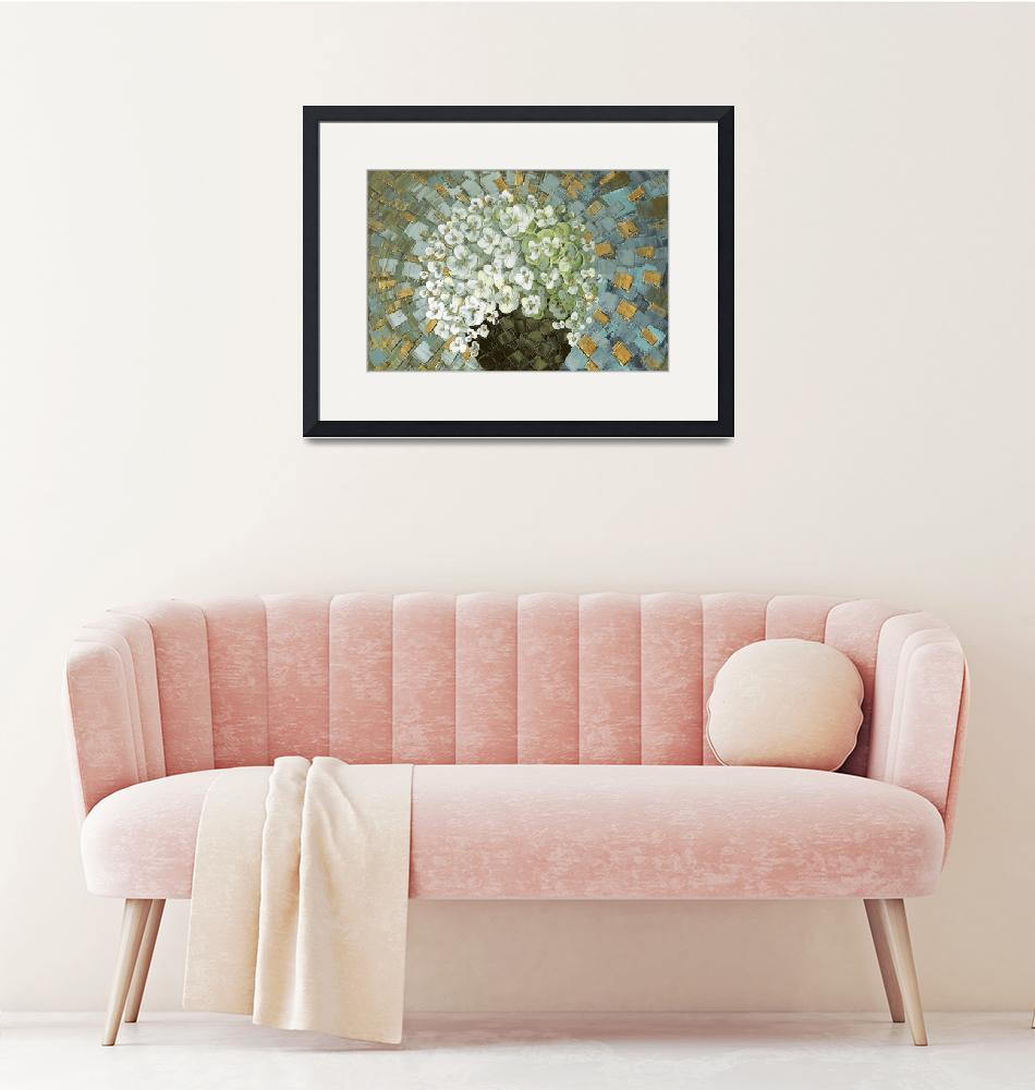 """""""Abstract Blosson Bouquet""""  by modernhouseart"""